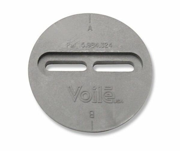 Sliderpuck Teller für winkelverstellbare Pucks 1 Schiene