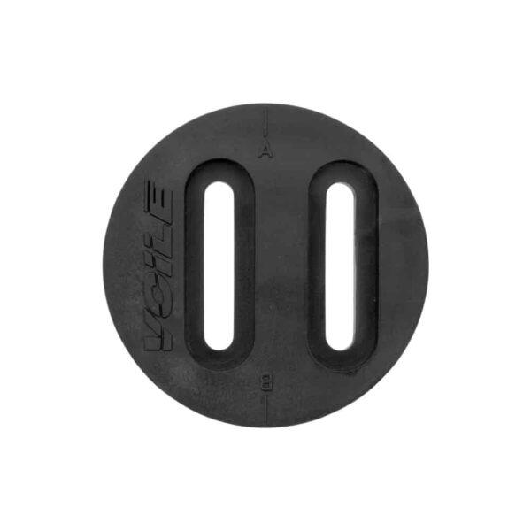 Sliderpuck Teller für winkelverstellbare Pucks 2 Schienen